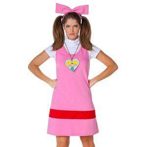 NWT Nickelodeon Hey Arnold! - Helga Adult Costume